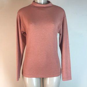 Nally & Millie Long Sleeve Top Adobe Brown Small